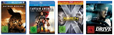 Amazon Gutschein 4 Blu-rays
