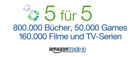 Amazon Gutschein 5€ TradeIn