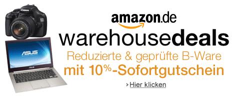 Amazon Gutschein Warehousedeals