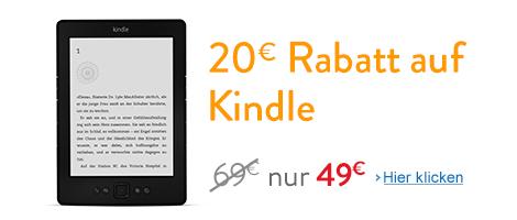 Kindle Gutschein 20€