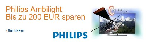 Amazon Gutschein Philips Ambilight TV